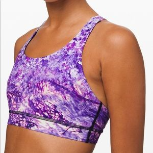 Energy Bra / Fractal Forest Pink Multi - Size 10